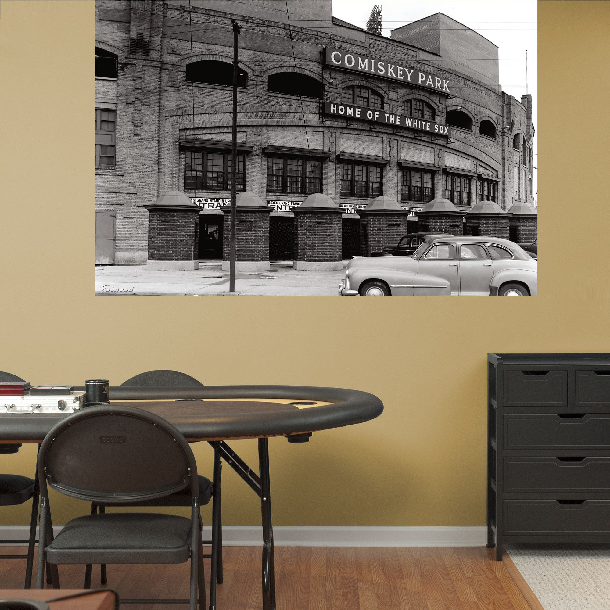 Comiskey Park Historic Mural | Chicago White Sox Wall Decal | Sports ...