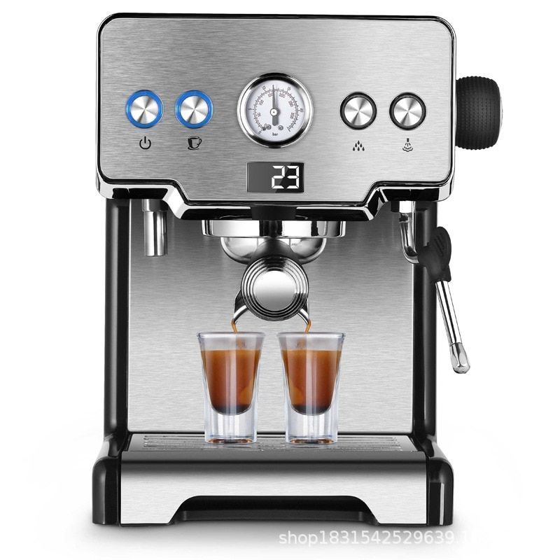 1450w Commercial Household Expresso Coffee Machine Steam Tea Shop
