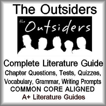 The Outsiders Novel Study: Print + Outsiders Distance