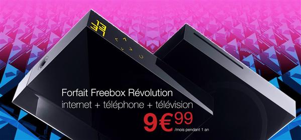 Bon plan la Freebox Crystal à 2 euros par mois pendant