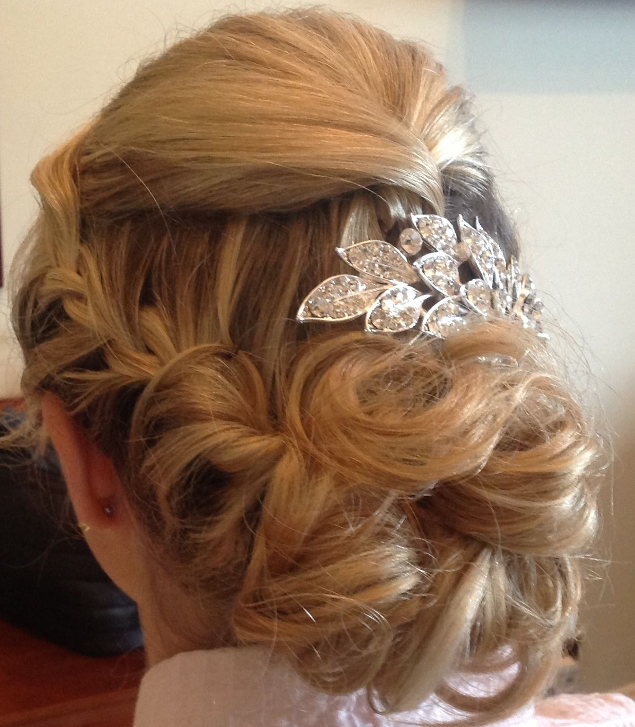 Brides texture soft hair up bridal with a twist pinterest