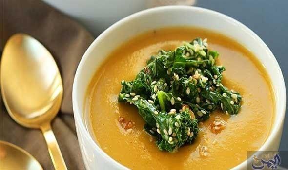 طريقة عمل شوربة القرع العسلي Pumpkin Soup Easy Pumpkin Soup Pumpkin Soup Recipe