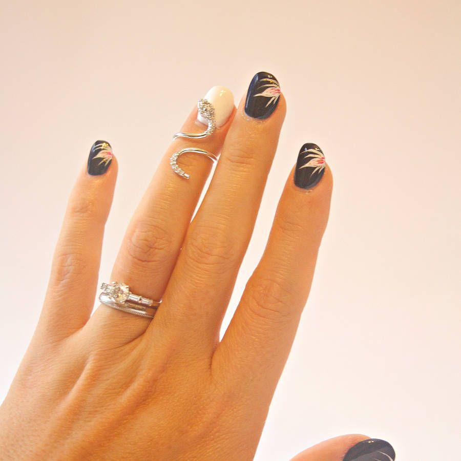 Snake Nail Ring
