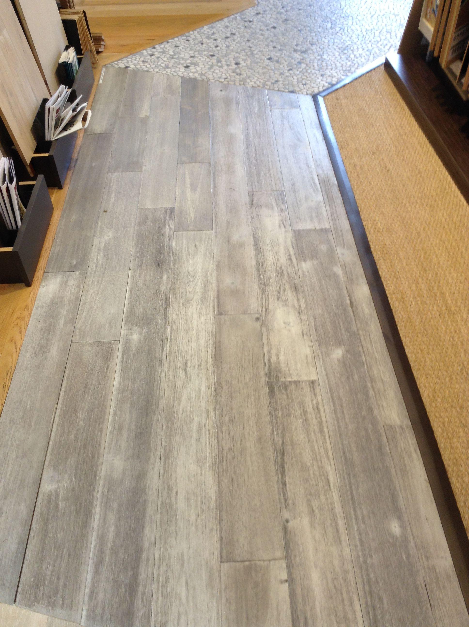 Modern rustic moonlight pearl hardwood flooring