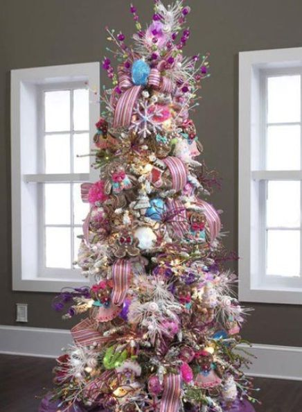 Candy Wonderland Christmas Trees Decorating Ideas Pictures