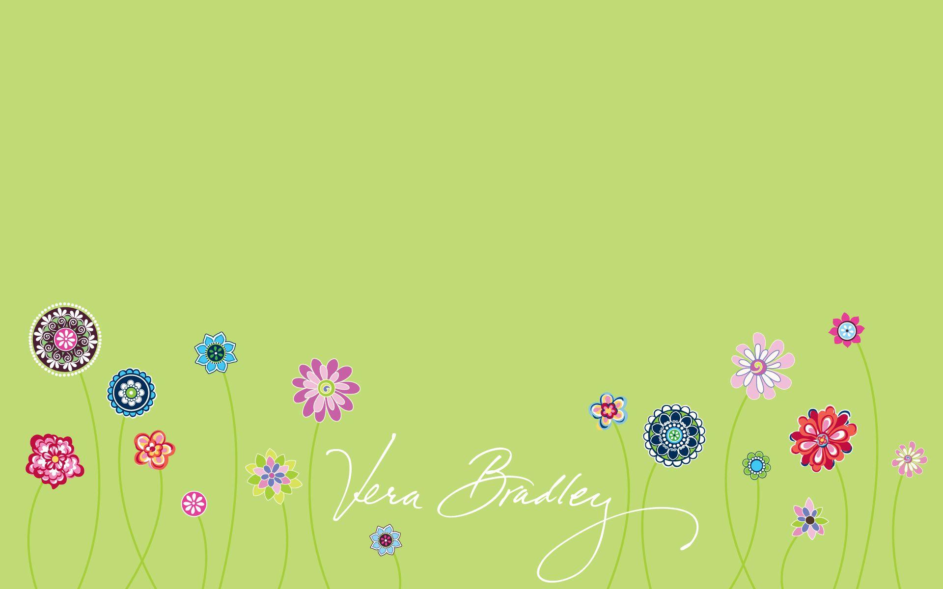 Vera Bradley Island Bloom Desktop Wallpaper | pics | Pinterest ...