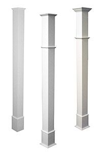 Vinyl Column Wrap Wrap N Snap For Easy Columns Porch Column
