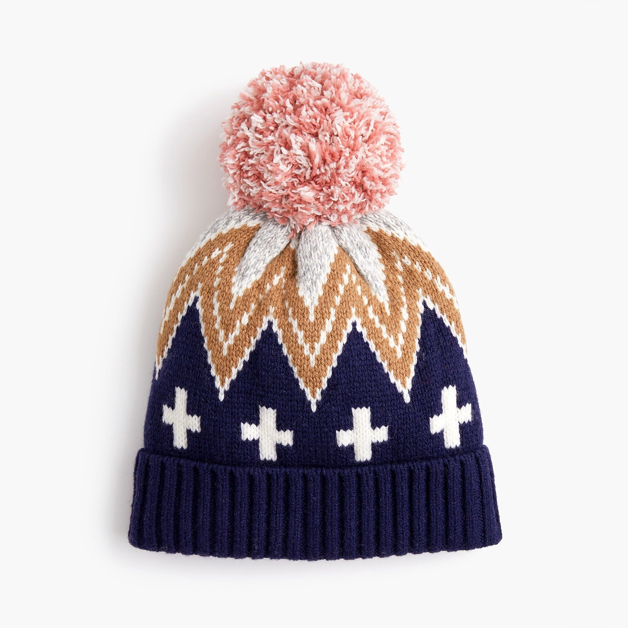68e2bb0346dc8 Patchwork Fair Isle knit hat   Women For The Great Outdoors