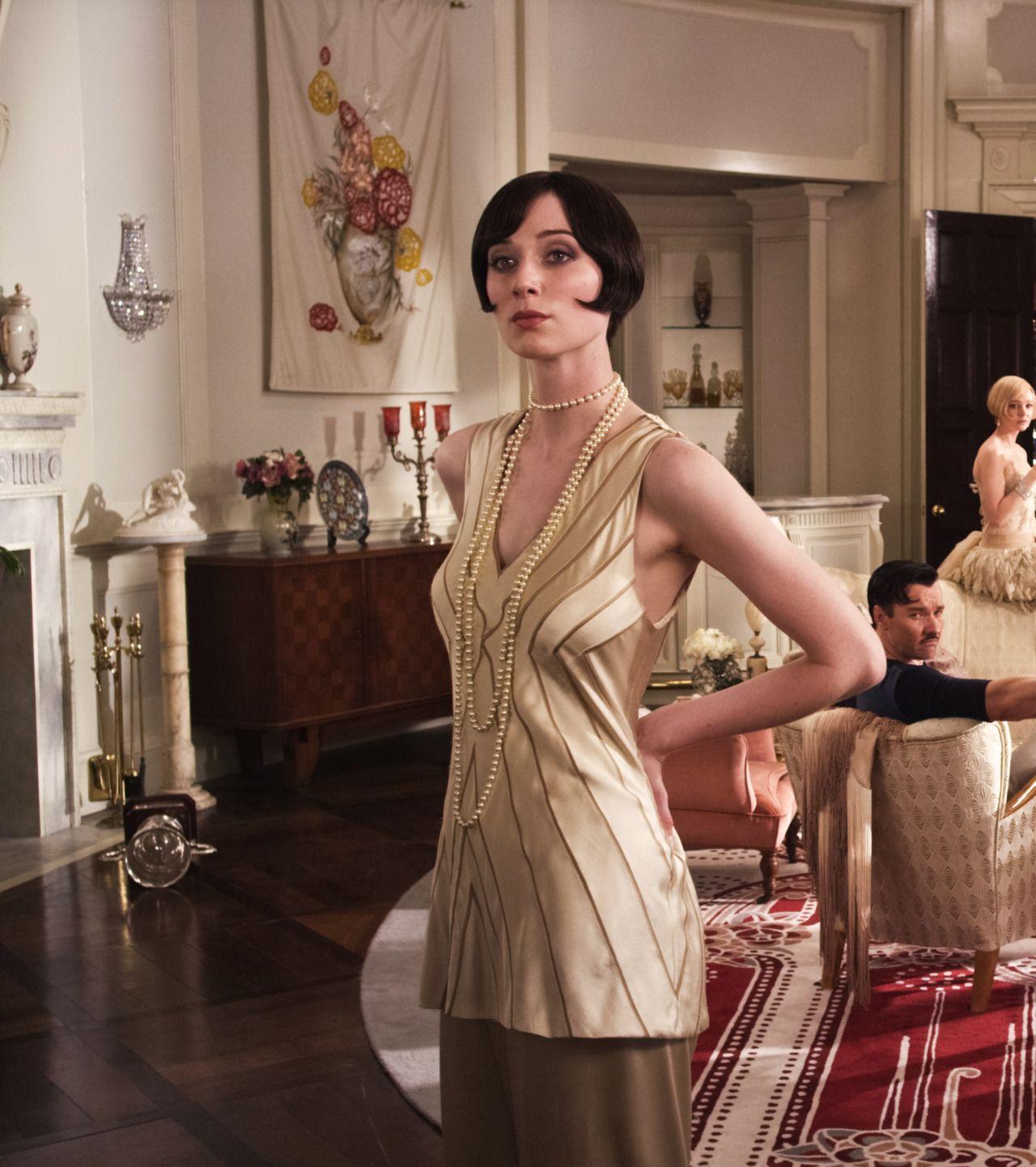 Elizabeth Debicki As Jordan Baker For Baz Luhrmann S The Great Gatsby 004 01 Bigger Great Gatsby Fashion Elizabeth Debicki Jordan Baker