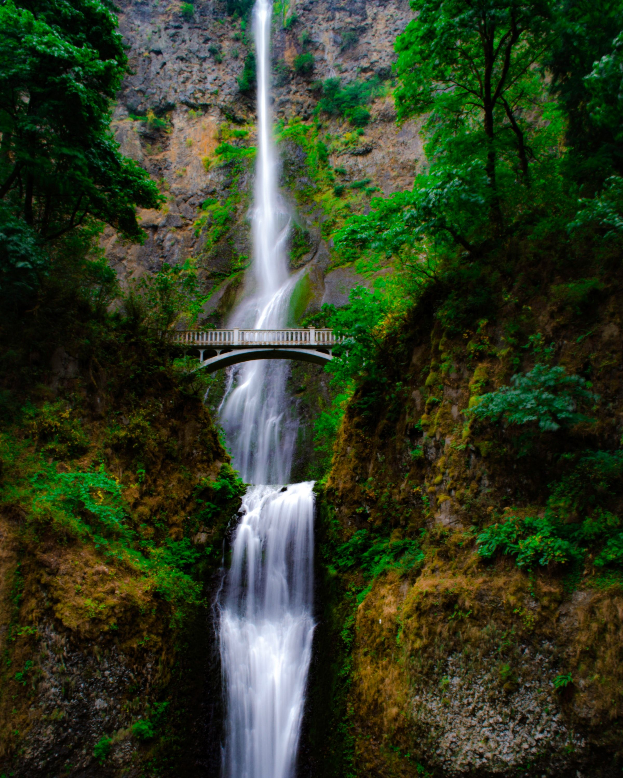 #Nature #wallpaper #waterfall #columbia River #oregon