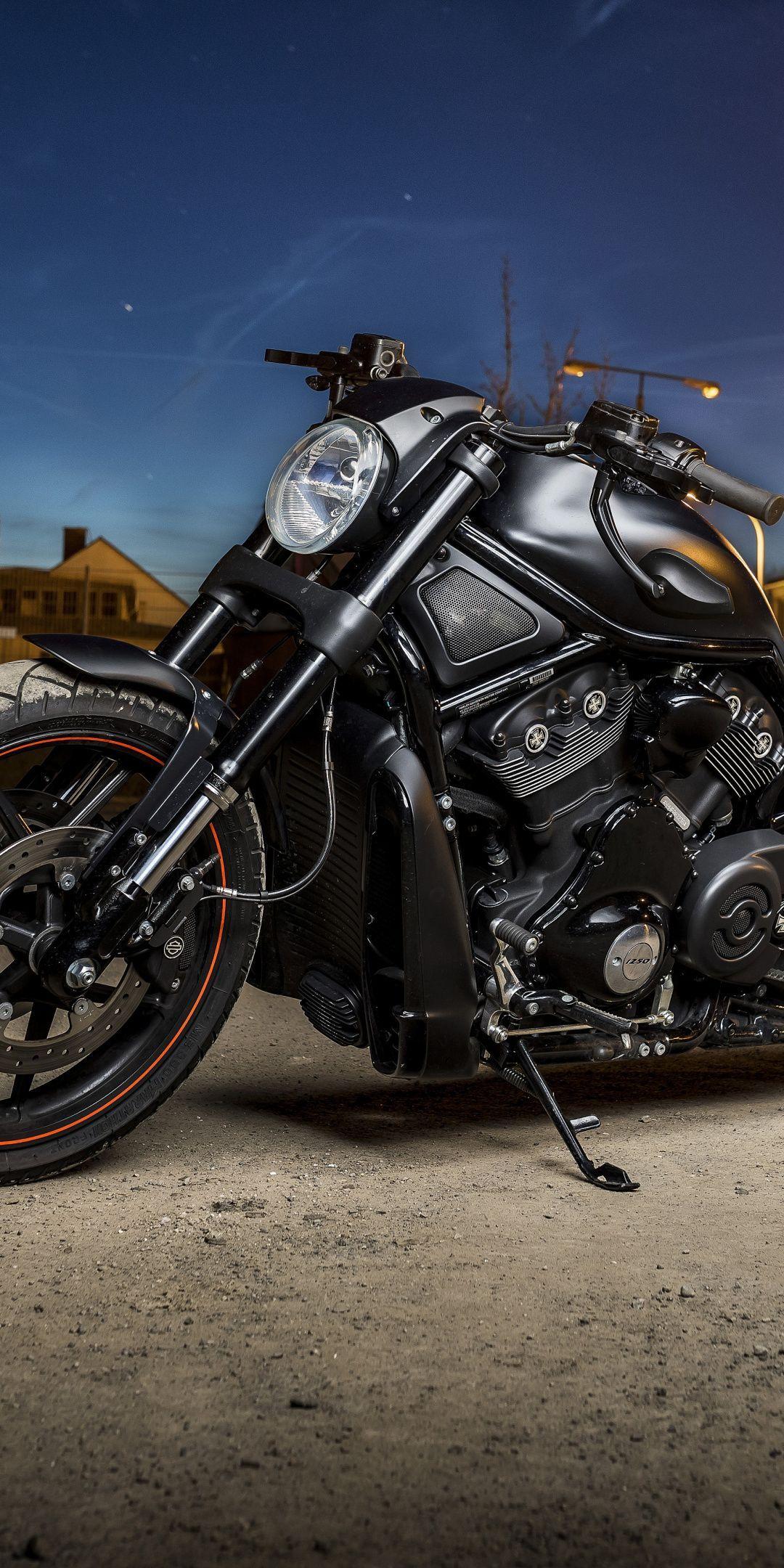 Harley Davidson Muscle Bike Night Out 1080x2160 Wallpaper