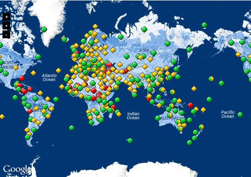 UNESCO World Heritage Sites - currently 72 #iFit maps of ... on