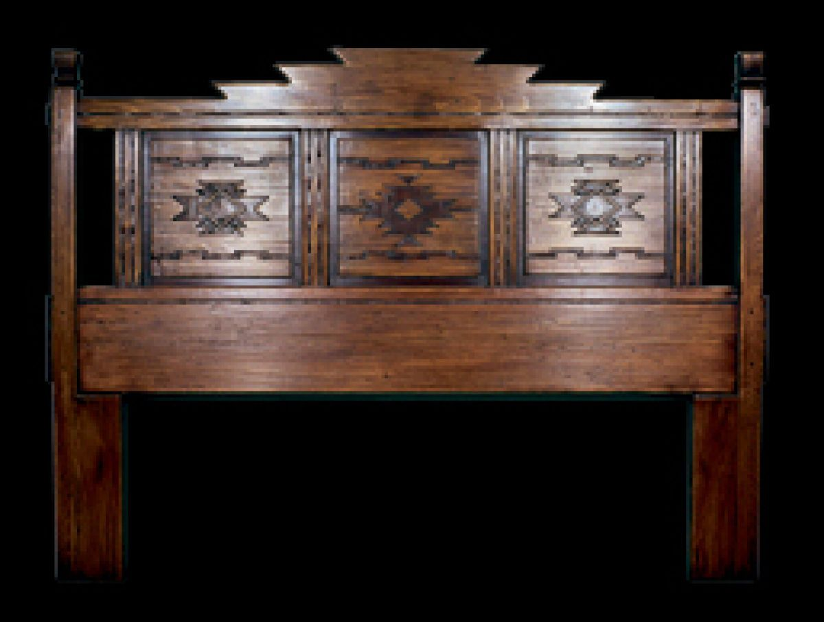 Headboard Furniture: Southwest Furniture, Santa Fe Style .