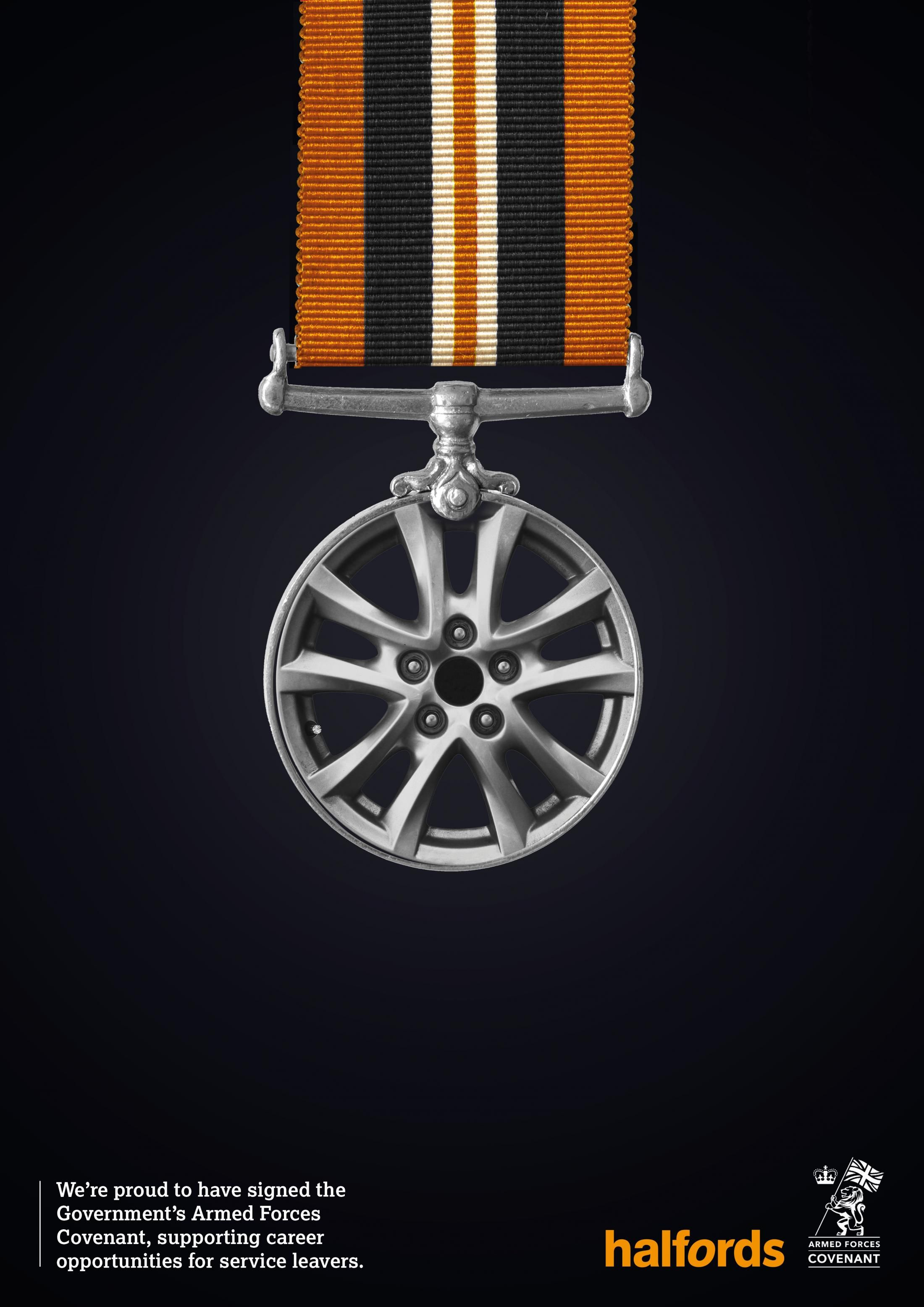 Halfords Halfords Armed Forces Covenant 1 Car Advertising Design Creative Advertising Ads Creative