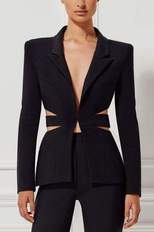 Pants Suit Black