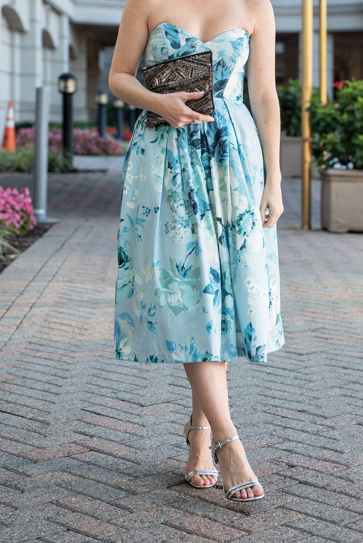 Poor Little It Girl - Blue Floral Party Dress @poorlilitgirl ...