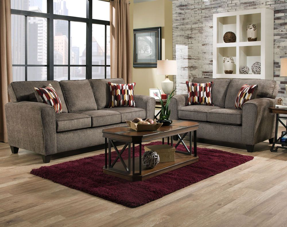 Best Mickey Pewter Confection Merlot Sofa Loveseat Collection 400 x 300