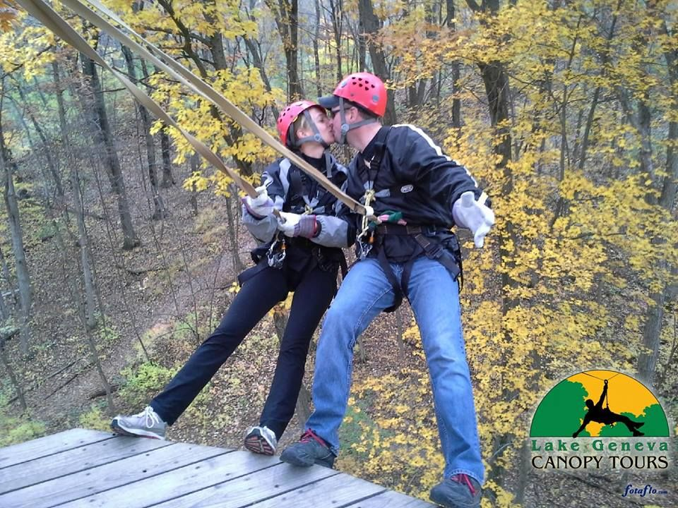 Make Your Way South To The Lake Geneva Canopy Tours An Exhilarating Zip Line