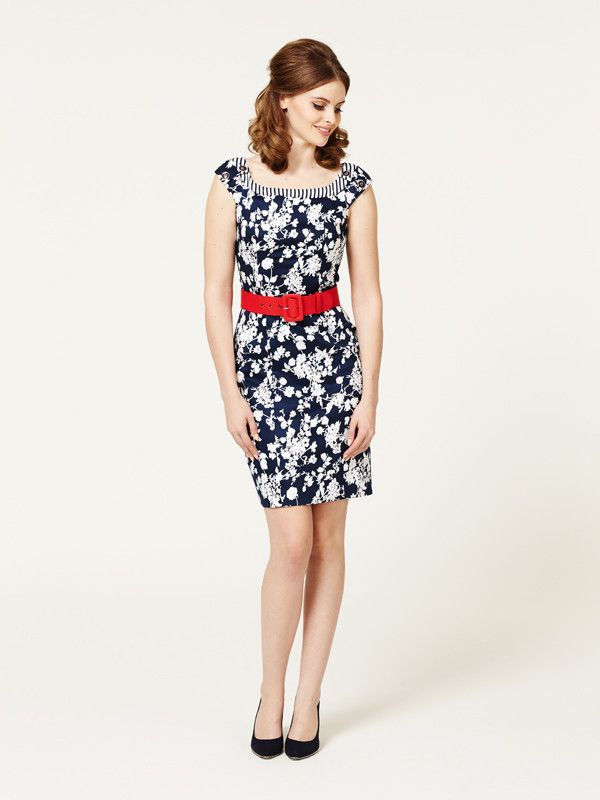 Marseille Wiggle Dress