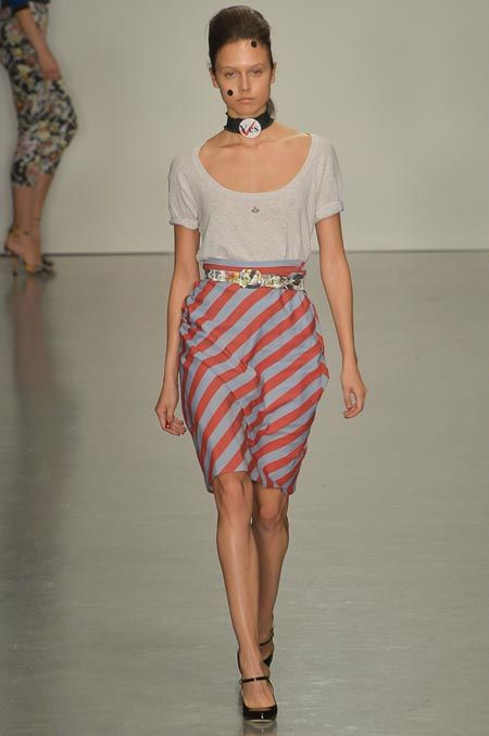 Vivienne Westwood Red Label Spring 2015 Ready-to-Wear - Collection - Gallery - Look 1 - Style.com