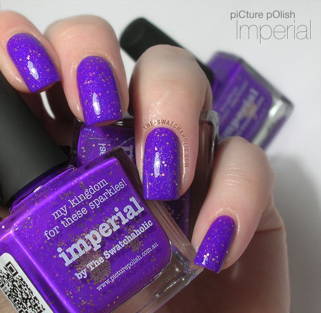 piCture pOlish Imperial – my collaboration shade (yay!): Swatches and Review and.. where have I been?