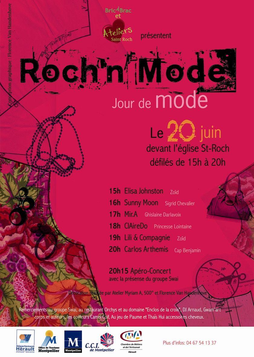Roch'n Mode Montpellier  Juin 2009