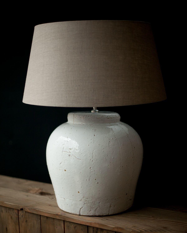 Image Result For Large White Ceramic Table Lamp 台灯 Ceramic