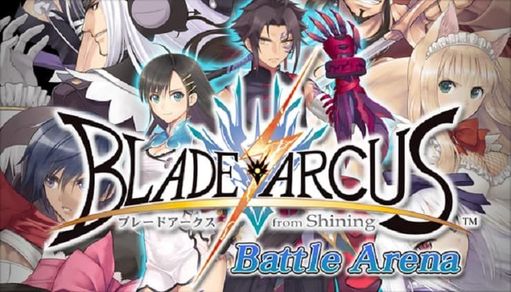 Blade arcus from shining battle arena trainer arena