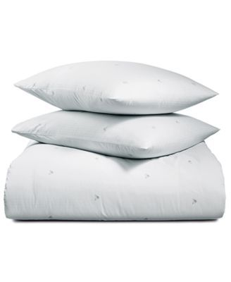 cc53c8af1b544 Calvin Klein Parterres 3-Pc. King Duvet Cover Set - White