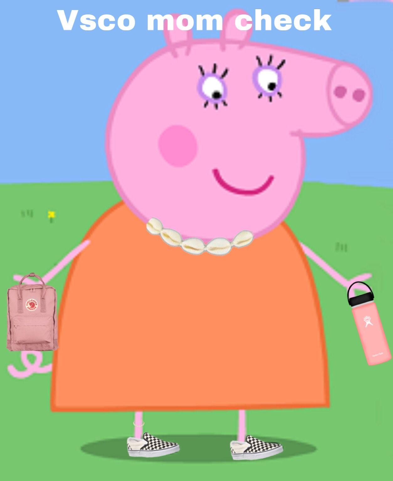 Vsco momie pig #peppapig