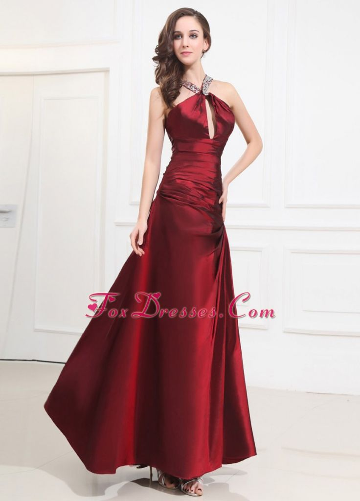Wine Colored Evening Dresses