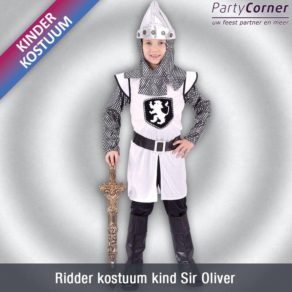 Ridder kostuum kind Sir Oliver