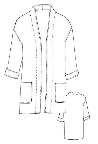 NEW :: Berlin Jacket Pattern (Sew Tessuti) | Pinterest | Patches ...