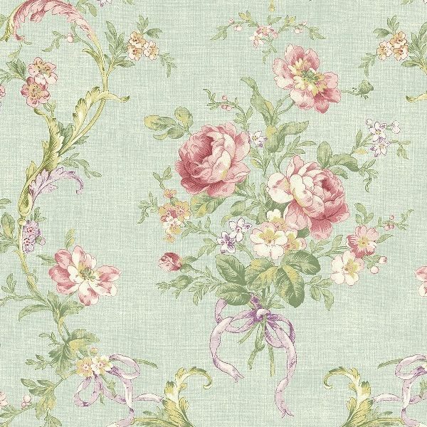 Cottage Chic Wallpaper Book Shabby Chic Wallpaperfloral