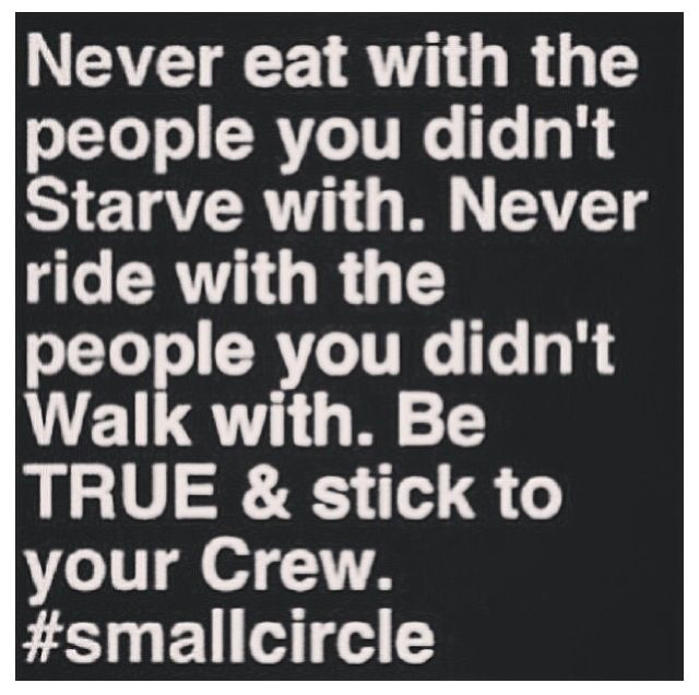 Small circle of friends is better than fake friends