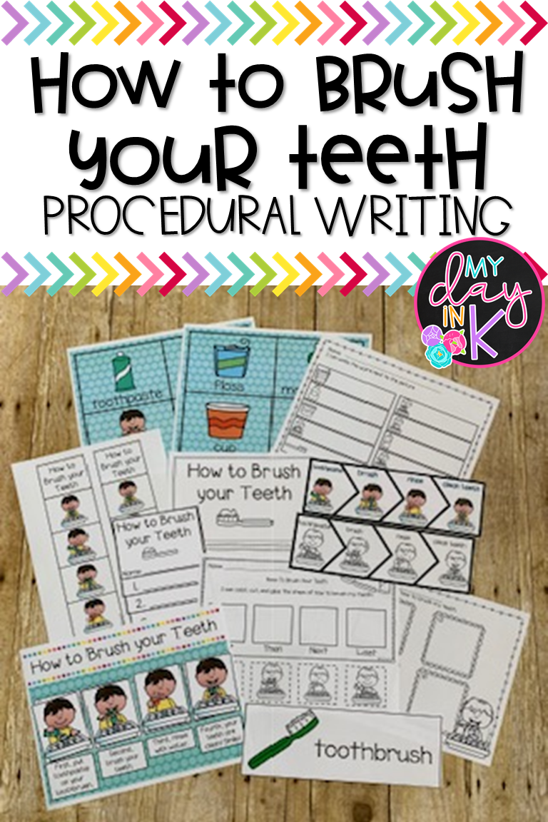Brushing Teeth Worksheets For Kindergarten