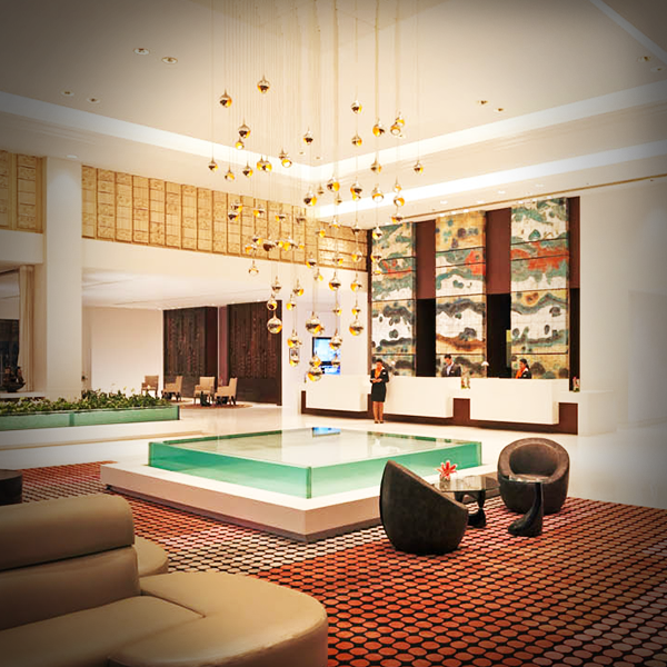 Bringing a modern twist to the traditional lobby; The Hub at Le Meridien Gurgaon is a window to the creative psyche.  #LMGurgaon