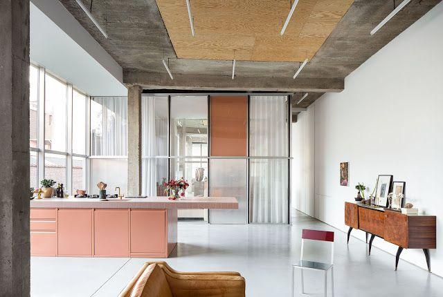 Collectif Project Inside Le Rose Poudre Couleur Du Slow Design Avec Images Interieur Maison Decoration Interieure Maison Design
