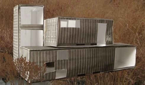 Make A Model Of A Home Made From Shipping Containers Container House Building A Container Home Container Homes Cost