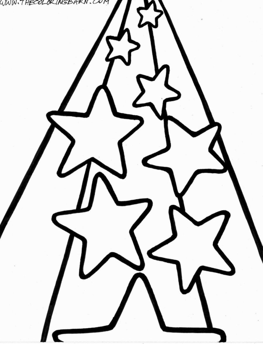 Shooting Stars Coloring Pages