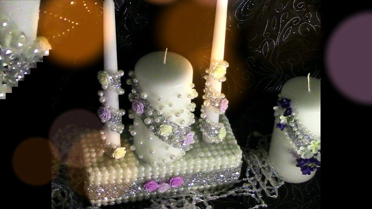 DIY Dollar Tree Unity Candle Memorial Set Wedding Series Wk 7