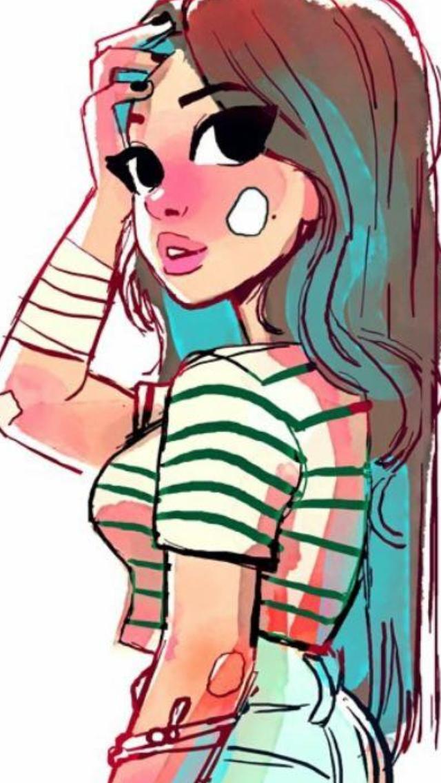 Pin De Rose En Toonimated Chica Tumblr Dibujo Dibujos Tumblr Dibujos