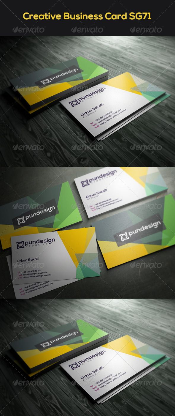 Creative business card sg71 reheart Images