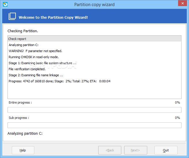 easeus partition master 10.8