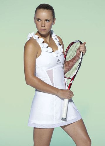 Adidas By Stella Mccartney White Ruffle Tennis Dress Adorable