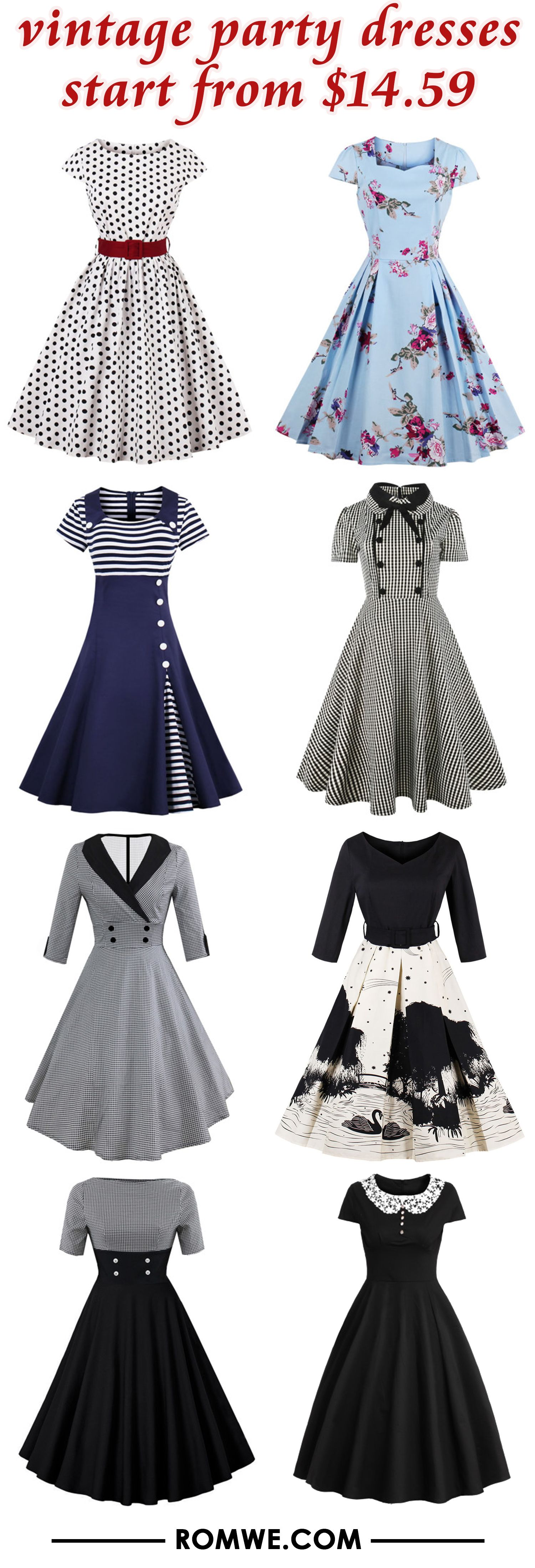Vintage Party Dresses From 14 59 Vintage Party Dresses Vintage Dresses Pretty Dresses