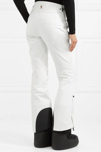 8f30aa3d19 Moncler Grenoble - Flared Ski Pants - White