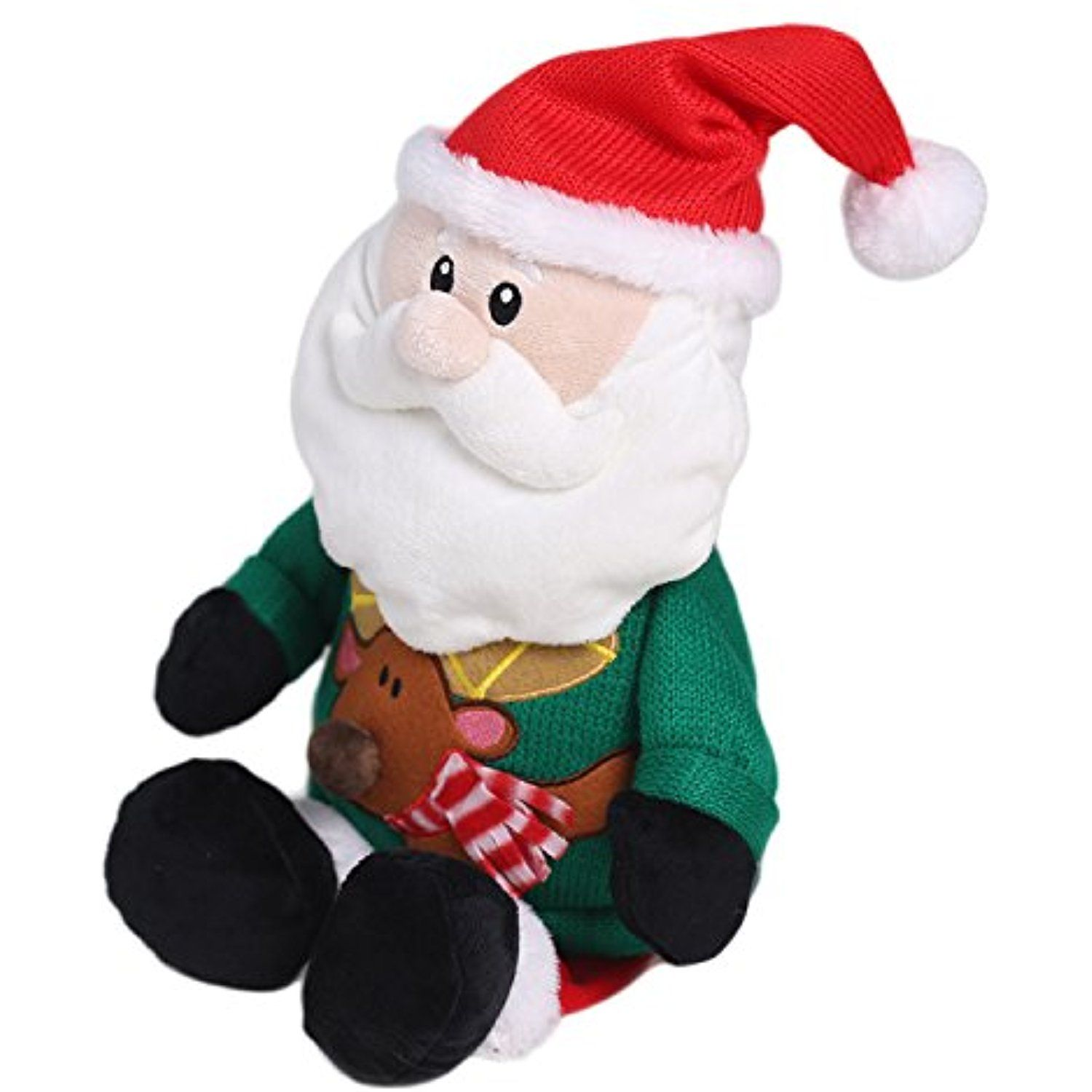 hollyhome soft stuffed animal father christmas plush toy home decorations festival birthday gift for kids - Christmas Plush Toys