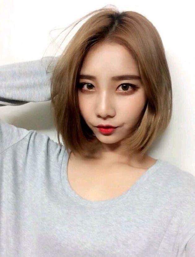 Pin By Tangjung Latthapanngam On Hair Short Hairstyles Fine Korean Short Hair Korean Hair Color