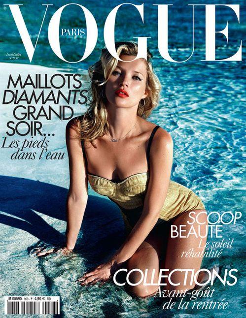 Kate Moss in 20 Vogue Paris covers | Vogue Paris